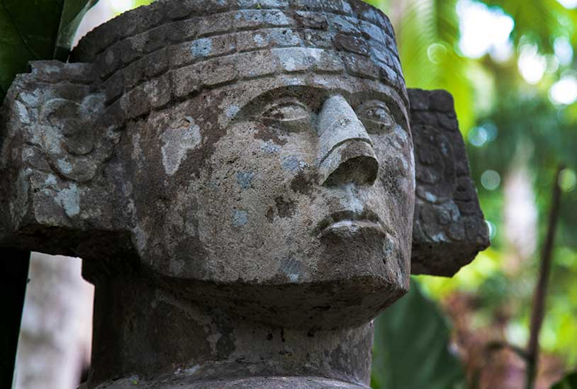 Maya Civilization - Head Figure - Decoding the Lost World of the Maya